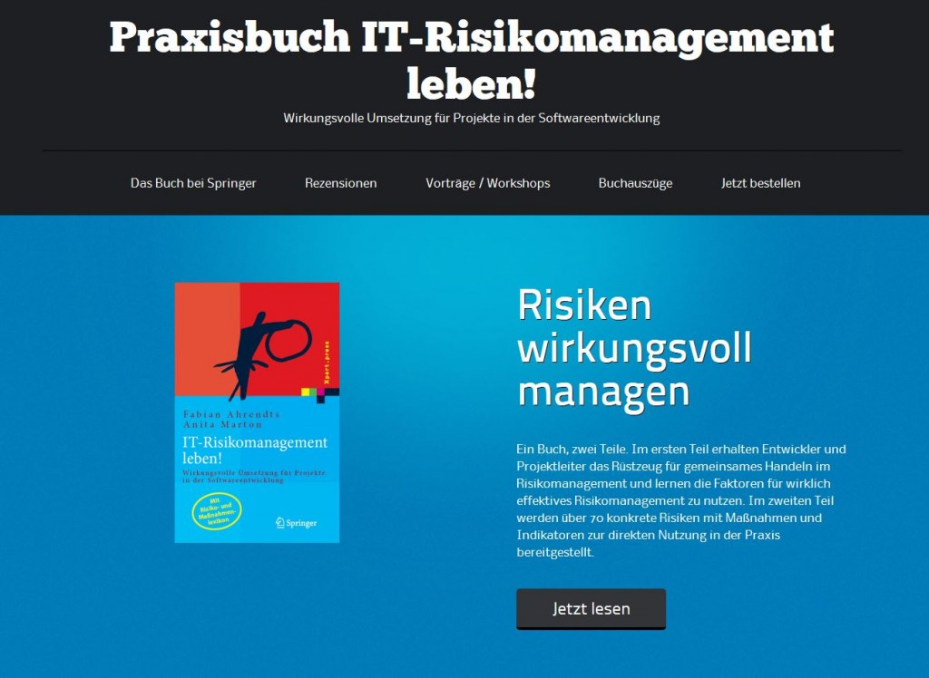 IT-Risikomanagement-Leben-Webseite